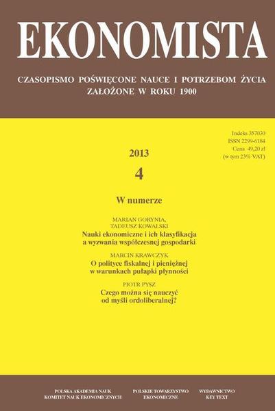 Ekonomista 2013 nr 4