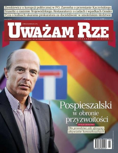"""""""Uważam Rze. Inaczej pisane"""" nr 20/2013"""