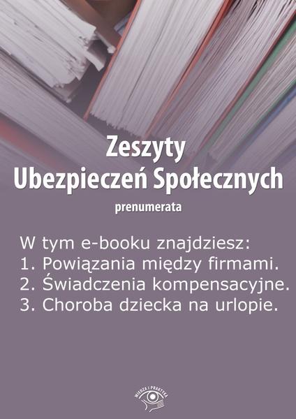 Zeszyty Ubezpieczeń Społecznych. Wydanie czerwiec 2014 r.