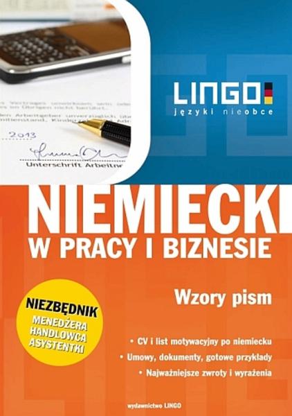 Niemiecki w pracy i biznesie. Wzory pism. Ebook