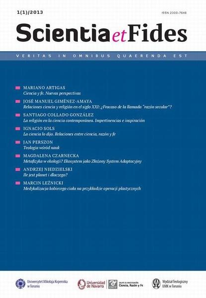 Scientia et Fides 1 (1) 2013