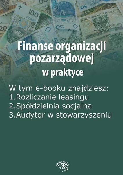 Finanse organizacji pozarządowej w praktyce, wydanie sierpień 2014 r.