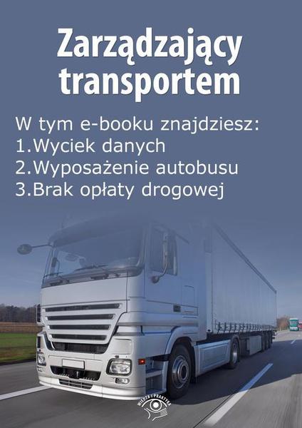 Zarządzający transportem, wydanie grudzień 2014 r.