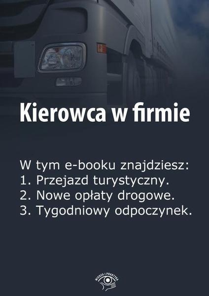 Kierowca w firmie, wydanie marzec 2014 r.