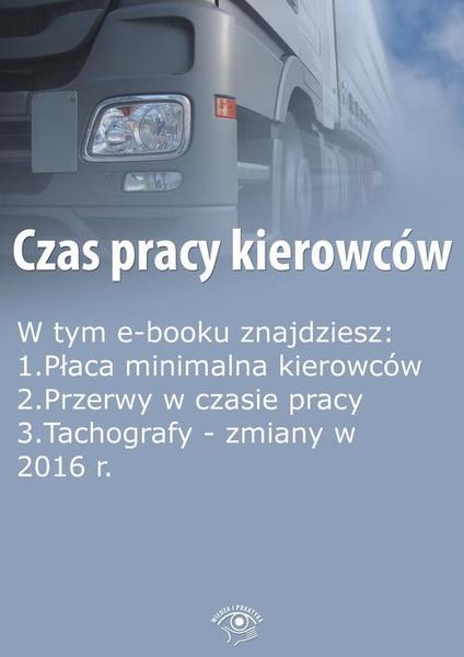 Czas pracy kierowców, wydanie maj 2015 r.