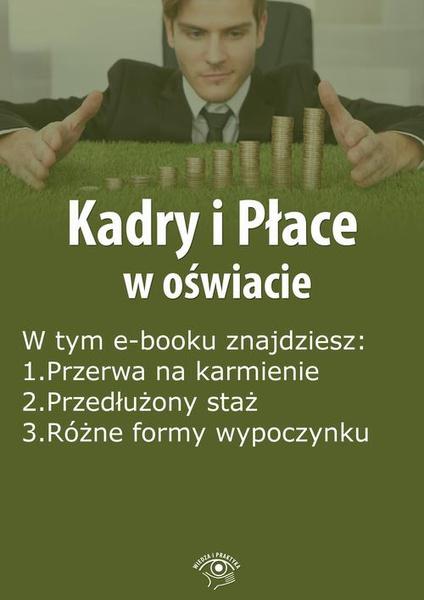 Kadry i Płace w oświacie, wydanie marzec 2015 r.