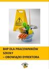 ebook BHP dla pracowników szkoły - obowiązki dyrektora - Małgorzata Celuch,Bożena Winczewska,Agnieszka Rumik,Joanna Kaleta,Dominik Wajda,Jan Mirosław Pióro