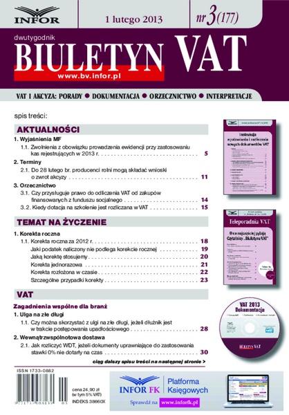 Biuletyn VAT
