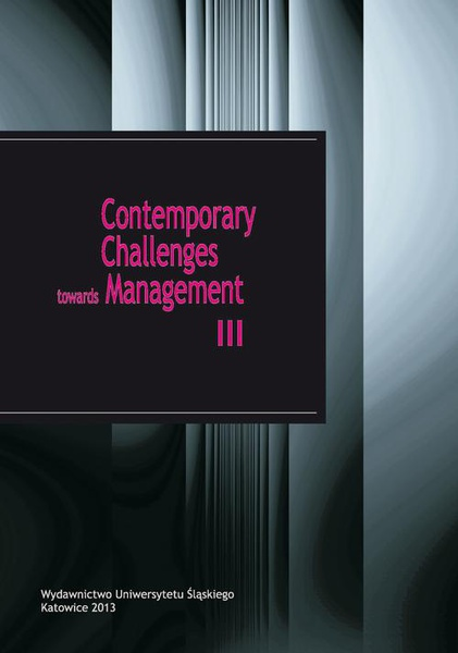 Contemporary Challenges towards Management III
