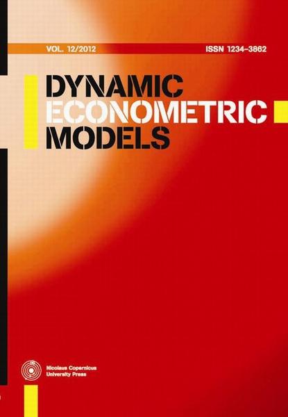 Dynamic Econometric Models, vol. 12/2012