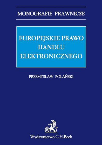 Europejskie prawo handlu elektronicznego