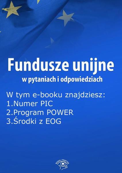 Fundusze unijne w pytaniach i odpowiedziach, wydanie maj 2015 r.