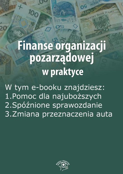 Finanse organizacji pozarządowej w praktyce, wydanie czerwiec 2014 r.