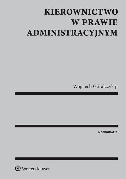 Kierownictwo w prawie administracyjnym