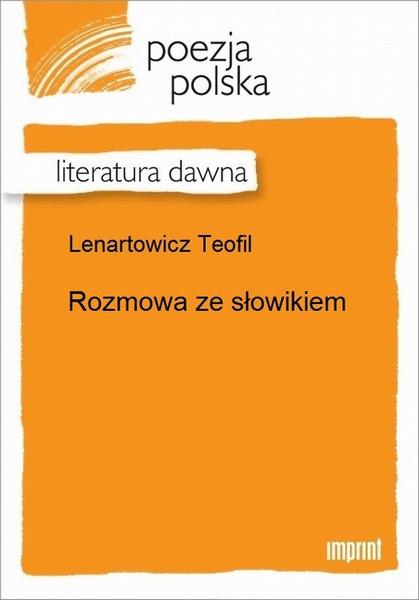 Rozmowa ze słowikiem