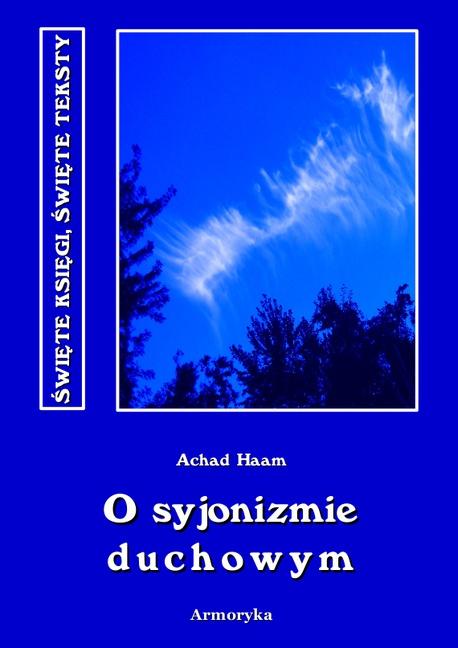 O syjonizmie duchowym - Achad Haam