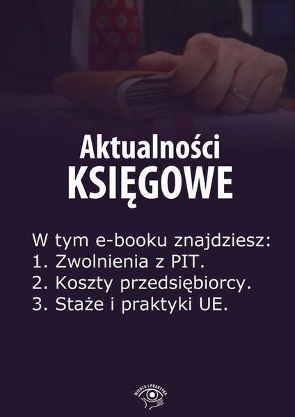 Aktualności księgowe, wydanie specjalne lipiec-wrzesień 2014 r.