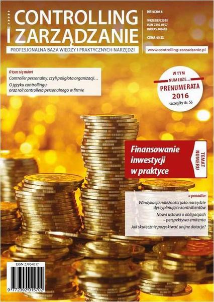 Controlling i Zarządzanie (nr 5/2015)