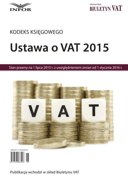 "Kodeks księgowego ""Ustawa o VAT"""
