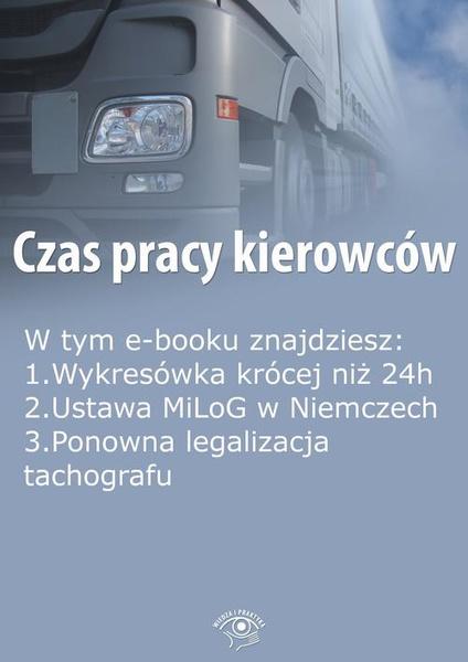 Czas pracy kierowców, wydanie sierpień 2015 r.