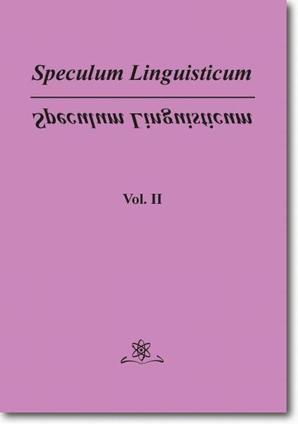Speculum Linguisticum Vol. 2