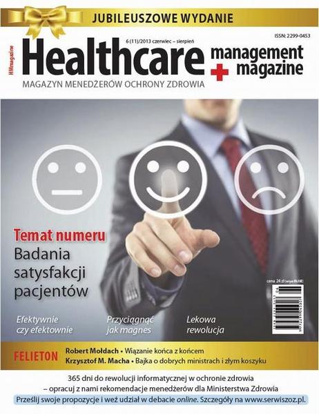 Healthcare Management Magazine 6 (11)/2013 czerwiec – sierpień