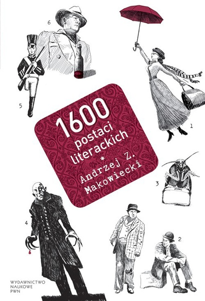 1600 postaci literackich
