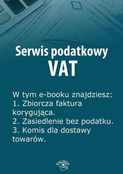 Serwis podatkowy VAT, wydanie czerwiec 2014 r.