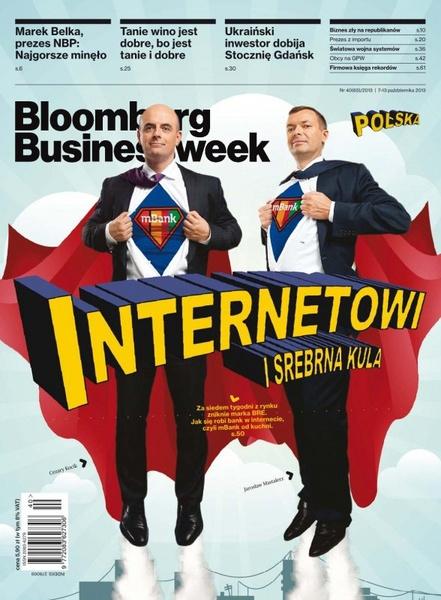 """""""Bloomberg Businessweek"""" wydanie nr 40/13"""