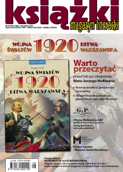 Magazyn Literacki KSIĄŻKI - nr 9/2011 (180)
