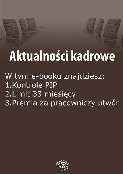 Aktualności kadrowe, wydanie marzec 2016 r.