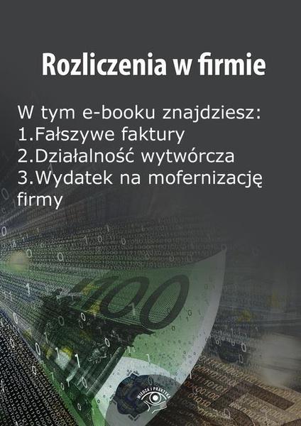 Rozliczenia w firmie, wydanie czerwiec 2014 r.