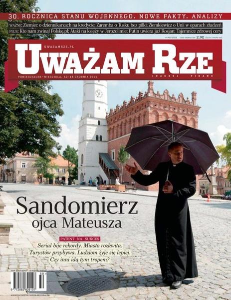 """""""Uważam Rze. Inaczej pisane"""" nr 45/2013"""