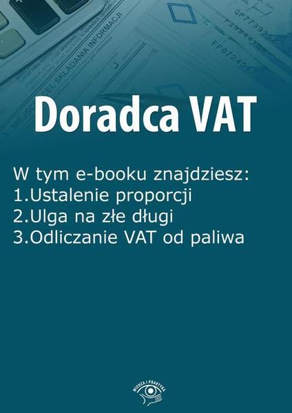 Doradca VAT, wydanie lipiec 2015 r.