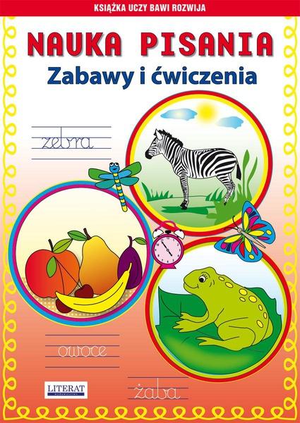 Nauka pisania. Zabawy i ćwiczenia. Zebra