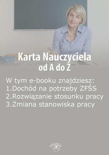 Karta Nauczyciela od A do Z, wydanie kwiecień 2014 r.