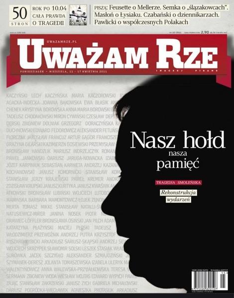 """""""Uważam Rze. Inaczej pisane"""" nr 10/2013"""