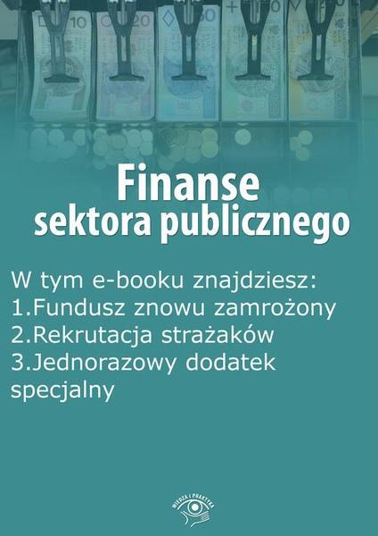 Finanse sektora publicznego, wydanie listopad 2014 r.