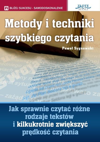 Metody i techniki szybkiego czytania