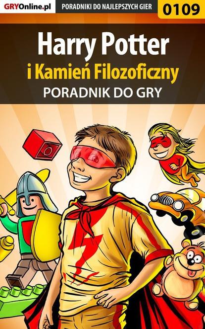 """Harry Potter i Kamień Filozoficzny - poradnik do gry - Krzysztof """"Hitman"""" Żołyński"""
