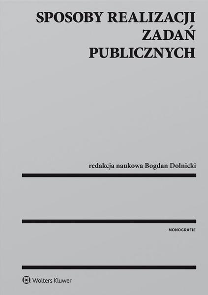 Sposoby realizacji zadań publicznych