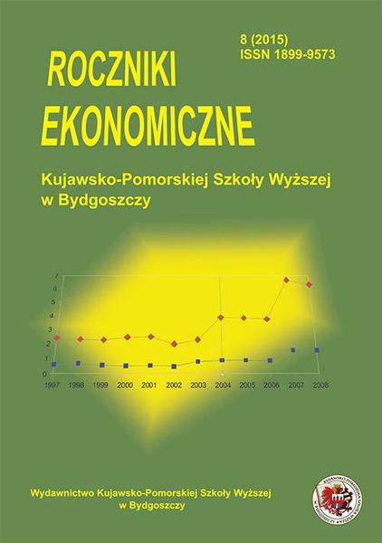 Roczniki Ekonomiczne KPSW w Bydgoszczy 8 (2015)