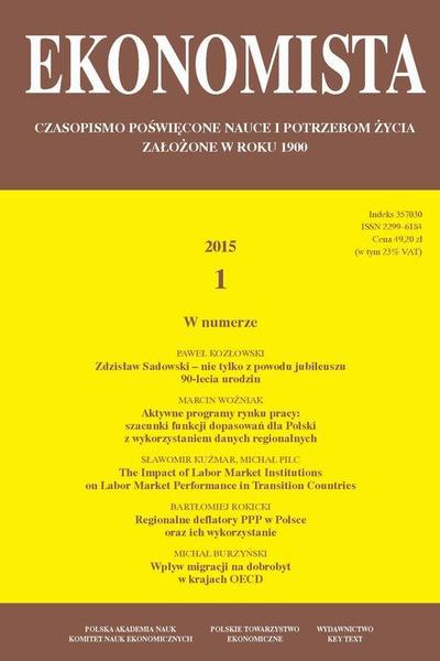 Ekonomista 2015 nr 1
