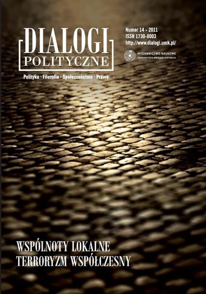 Dialogi Polityczne. Polityka - Filozofia - Społeczeństwo - Prawo. 14/2011