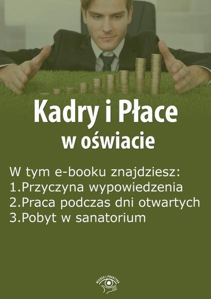 Kadry i Płace w oświacie, wydanie kwiecień 2015 r.