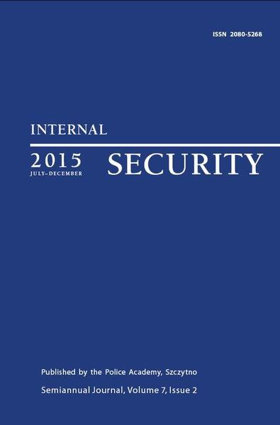 Internal Security (july-december) Vol. 7/1/2015