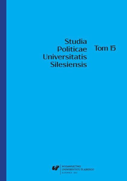 Studia Politicae Universitatis Silesiensis. T. 15