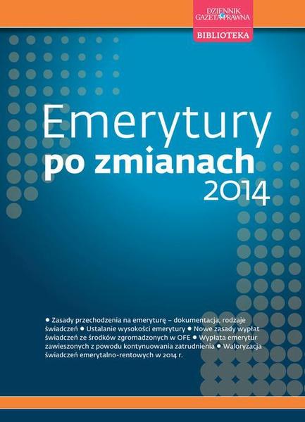 Emerytury po zmianach 2014