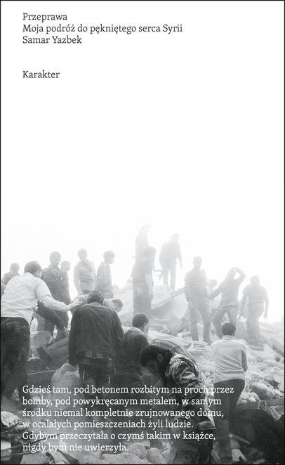 Przeprawa - Samar Yazbek