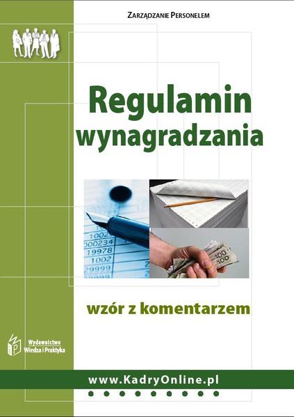 Regulamin wynagradzania - wzór z komentarzem